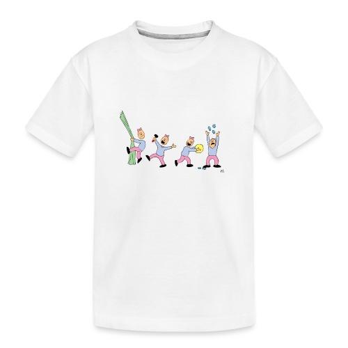 toern babybody - Premium økologisk T-skjorte for tenåringer
