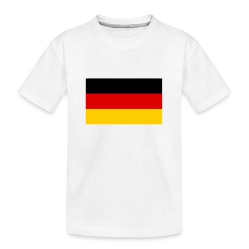 2000px Flag of Germany svg - Teenager Premium Bio T-Shirt