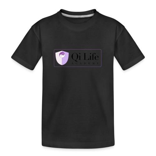 Qi Life Academy Promo Gear - Teenager Premium Organic T-Shirt