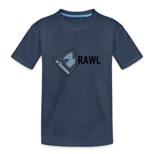 PANDA ONLY LOGO - Teenager premium biologisch T-shirt
