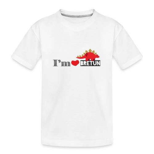 bretun negro - Camiseta orgánica premium adolescente