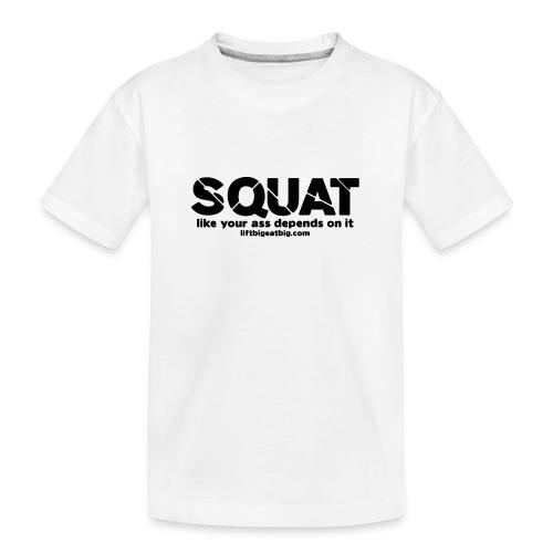 squat - Teenager Premium Organic T-Shirt