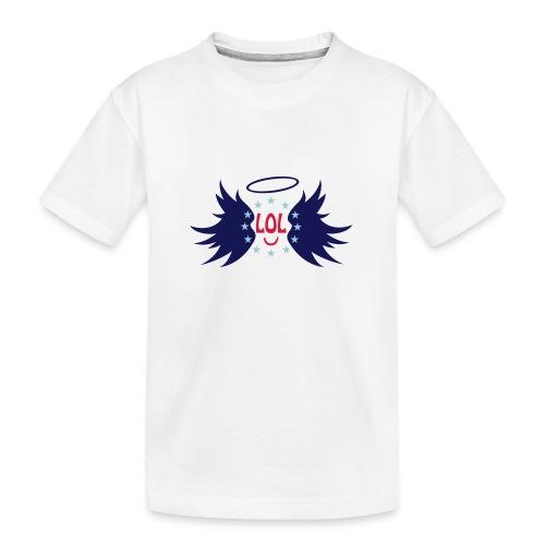 Tablier de cuisine : LOL avec aile ange - Teenager Premium Organic T-Shirt