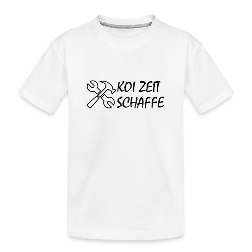 KoiZeit - Schaffe - Teenager Premium Bio T-Shirt