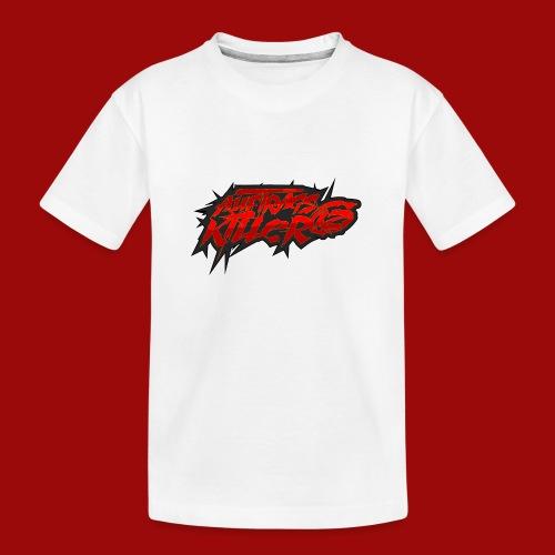 Auftragskillerx2 Schrift - Teenager Premium Bio T-Shirt