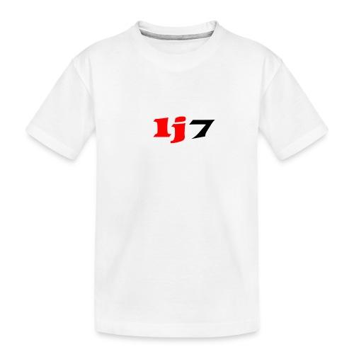 lj7 - Ekologisk premium-T-shirt tonåring