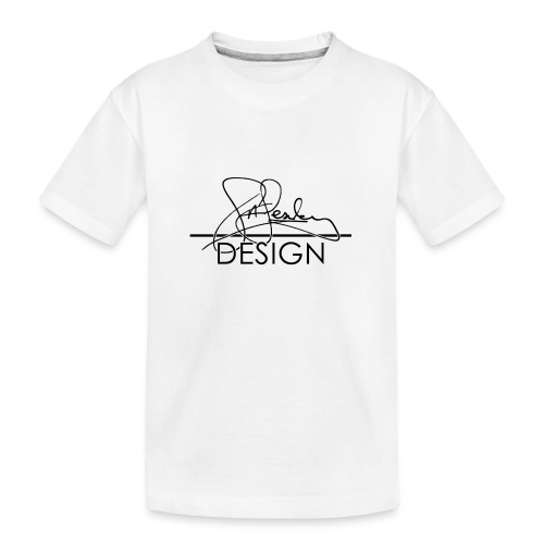 sasealey design logo png - Teenager Premium Organic T-Shirt