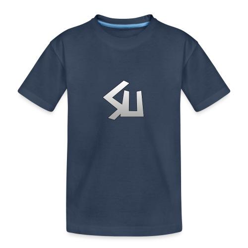 Plain SU logo - Teenager Premium Organic T-Shirt