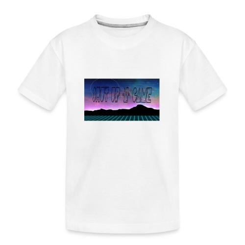 Shut up-N- Game - Teenager Premium Organic T-Shirt