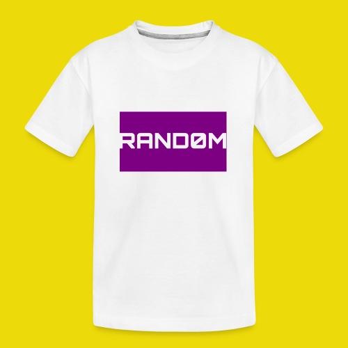 Random Logo - Teenager Premium Organic T-Shirt