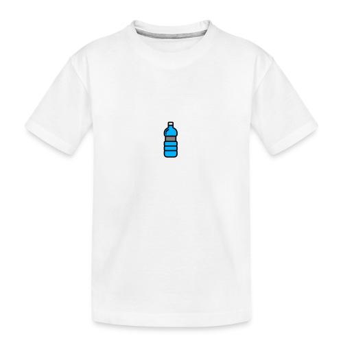 Bottlenet Tshirt Grijs - Teenager premium biologisch T-shirt