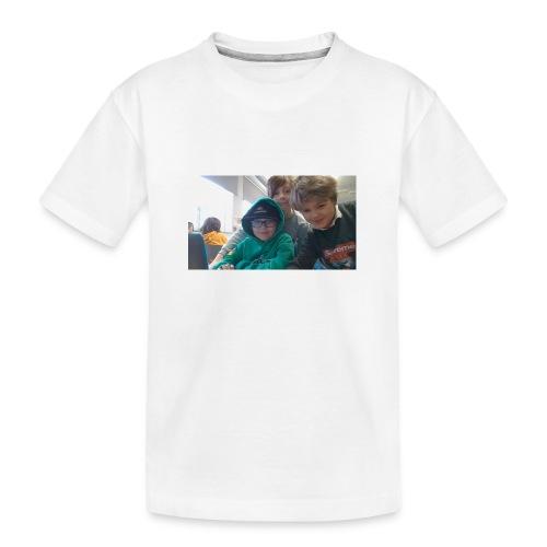 hihi - Ekologisk premium-T-shirt tonåring