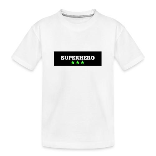 Lätzchen Superhero - Teenager Premium Bio T-Shirt