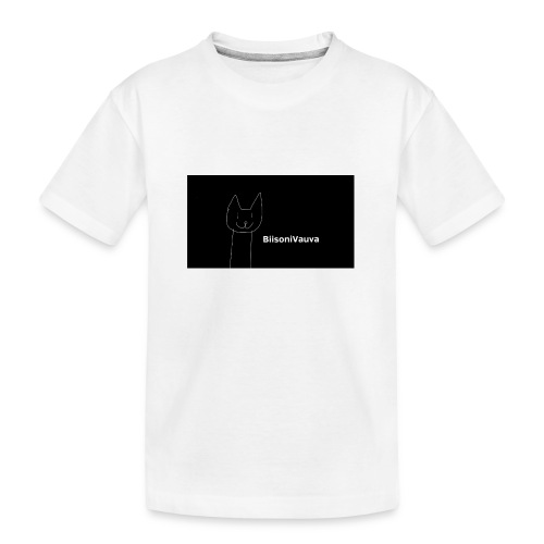 biisonivauva - Teinien premium luomu-t-paita
