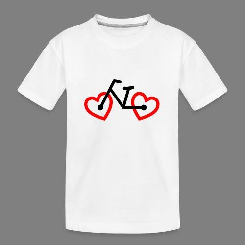 Bike Love - Teenager Premium Bio T-Shirt