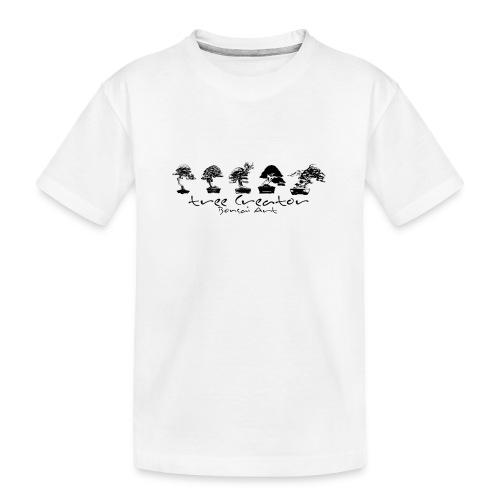 tree creator bonsa art horizon - T-shirt bio Premium Ado