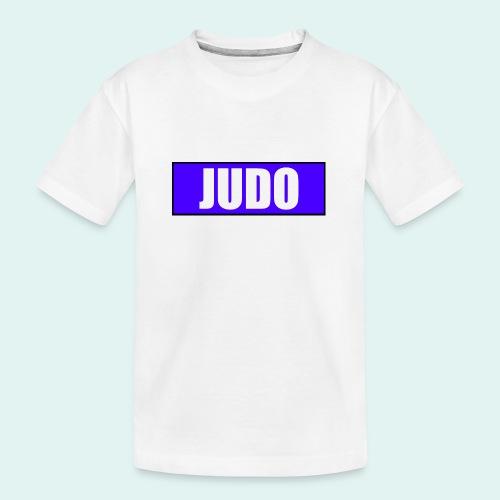 Judo Blau 2. Kyu - Teenager Premium Bio T-Shirt