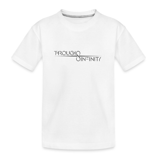 TI Logo Black - Teenager Premium Organic T-Shirt