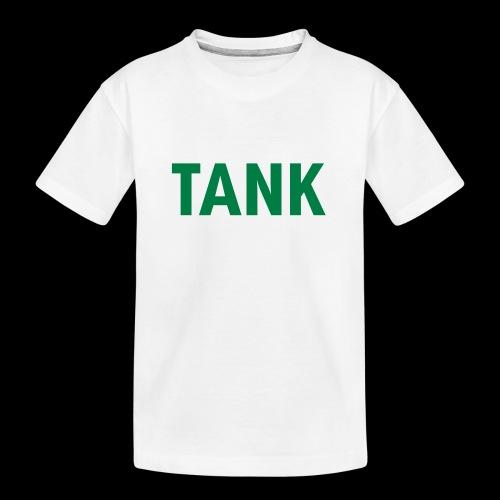 tank - Teenager premium biologisch T-shirt