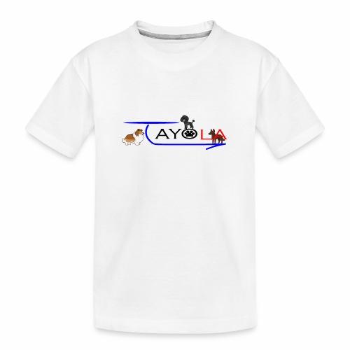 Tayola Black - T-shirt bio Premium Ado