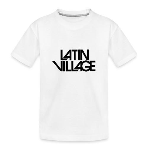 Logo Latin Village 30 - Teenager premium biologisch T-shirt