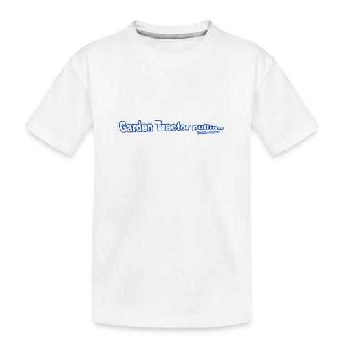 Børne Garden Tractor pulling - Teenager premium T-shirt økologisk