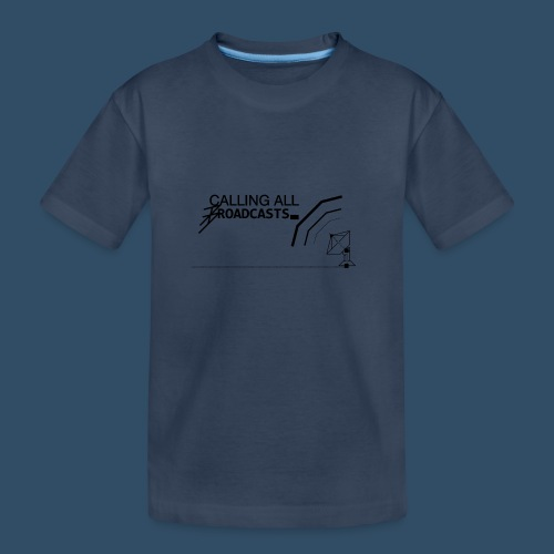 Calling All Broadcasts Invert - Teenager Premium Organic T-Shirt
