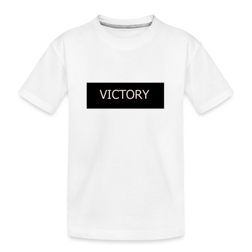 VICTORY - Teenager Premium Organic T-Shirt