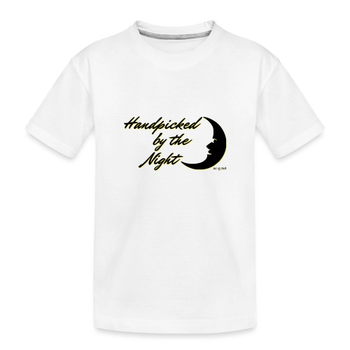 Handpicked design By The Night - Logo Black - Teenager Premium Organic T-Shirt