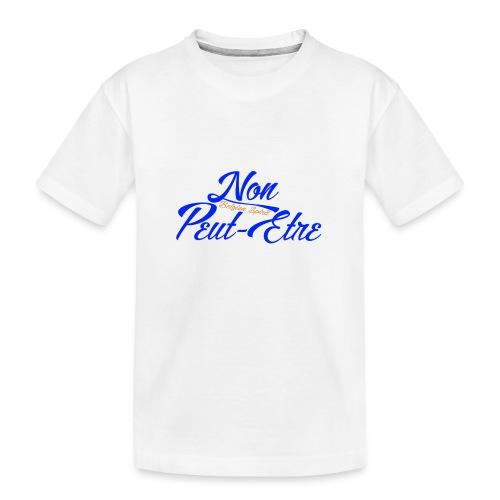 BELGIAN-NONPEUTETRE - T-shirt bio Premium Ado