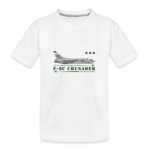 F-8C Crusader VMF-333 - T-shirt bio Premium Ado