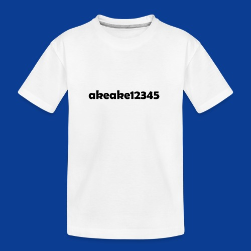 My new shirt - Teenager Premium Organic T-Shirt