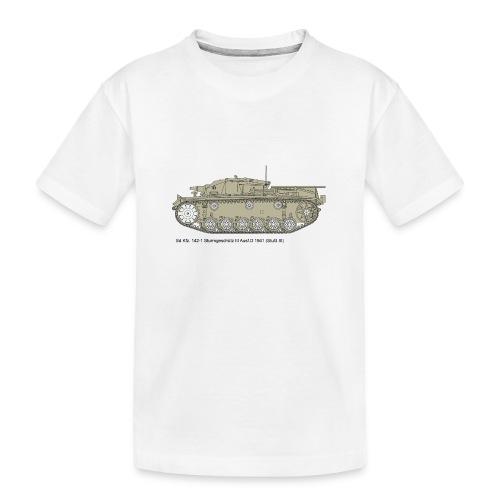 Stug III Ausf D. - Teenager Premium Bio T-Shirt