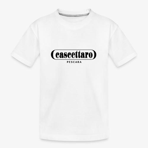 Cascettaro - Maglietta ecologica premium per ragazzi