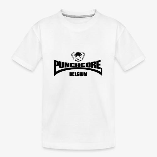 PUNCHCORE BELGIUM - T-shirt bio Premium Ado