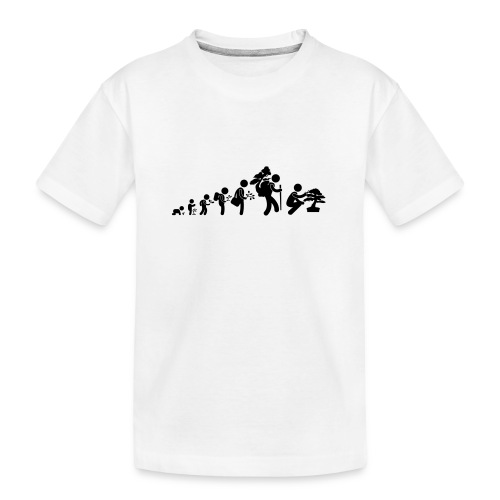 bonsaka_evolution_sans - T-shirt bio Premium Ado