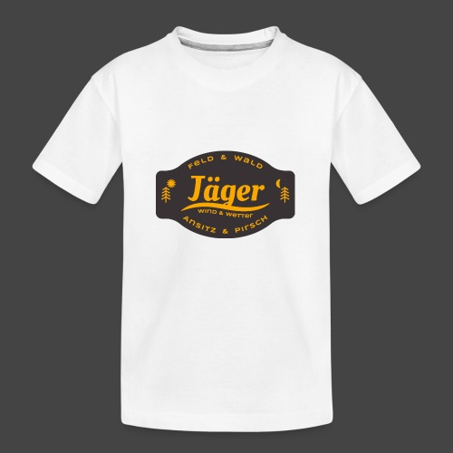 Das Jäger-Shirt für aktive Jäger - Teenager Premium Bio T-Shirt