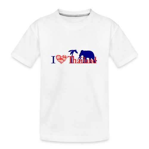 I love Thailand - Teenager Premium Organic T-Shirt