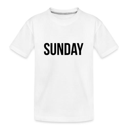 Sunday - Teenager Premium Organic T-Shirt