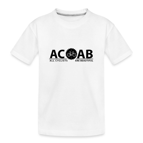 ACAB ALL CYCLISTS - Teenager Premium Bio T-Shirt