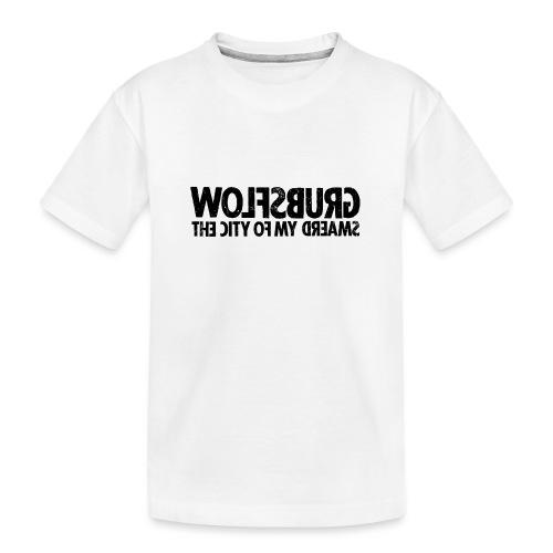 Wolfsburg (black_oldstyle) - Teenager Premium Bio T-Shirt