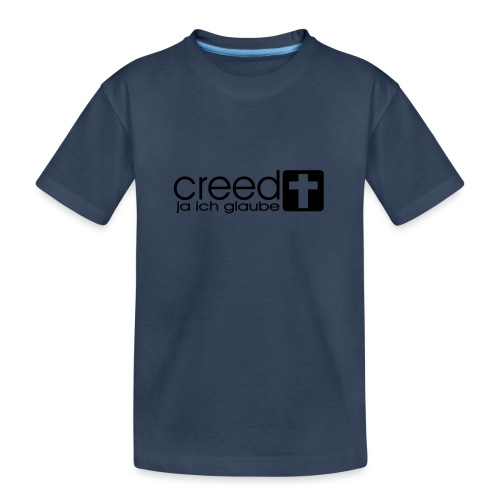 Creed Glaube - Teenager Premium Bio T-Shirt