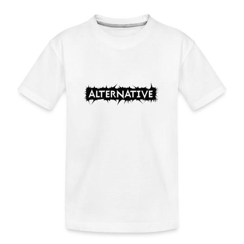 Spike T-shirt White - Ekologiczna koszulka młodzieżowa Premium