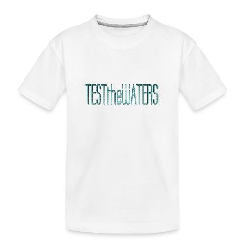 TESTtheWATERS BETA BLUE - Teenager Premium Organic T-Shirt