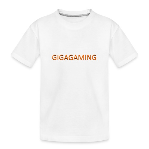 GIGAGAMING - Teenager premium T-shirt økologisk