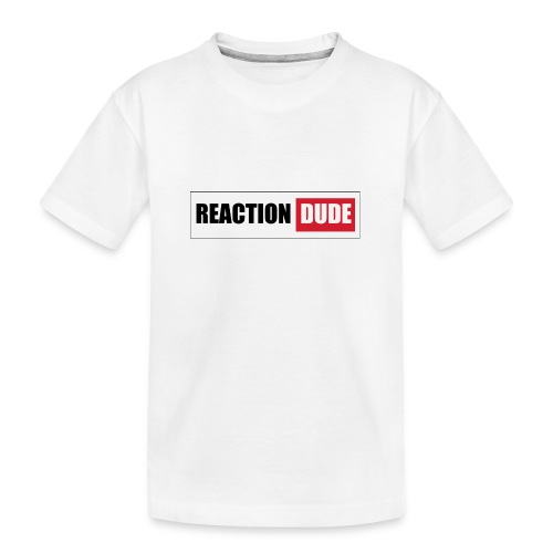 ReactionDude Gear - T-shirt bio Premium Ado