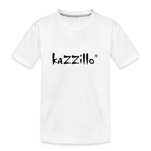 Logo kazzillo - Maglietta ecologica premium per ragazzi