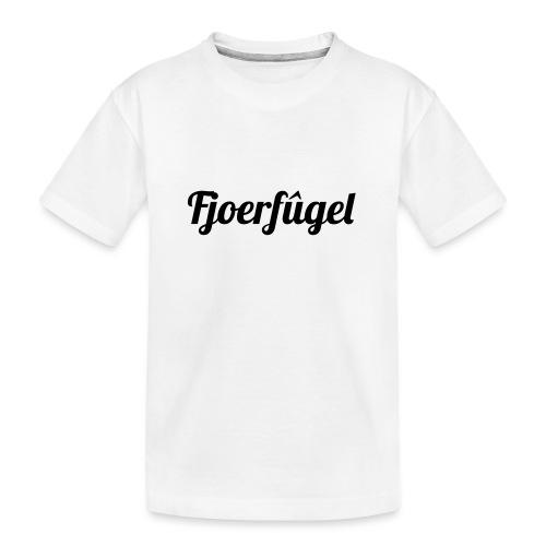 fjoerfugel - Teenager premium biologisch T-shirt