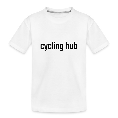 Natural Sports Hub cycling hub - Teenager Premium Bio T-Shirt