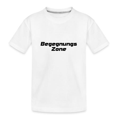 Begegnungszone - Teenager Premium Bio T-Shirt
